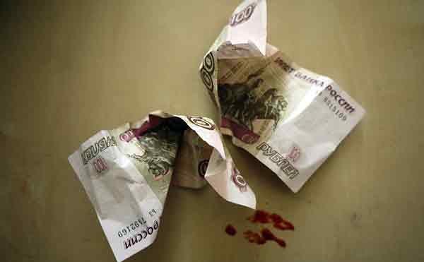 В Кургане грабитель напал на продавца из-за 200 рублей