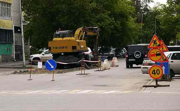 В Кургане улицу Горького закроют до 5 августа для проезда