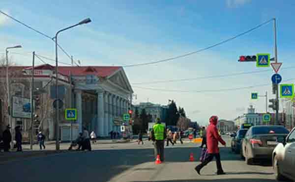 В Кургане закроют для движения перекресток Гоголя – Ленина