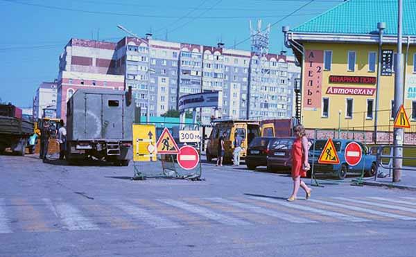 В Кургане на месяц закроют улицу, где только что закончился ремонт