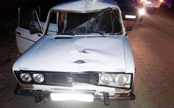 В Зауралье 18-летний водитель насмерть сбил 57-летнего пешехода
