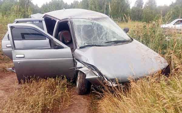 В Зауралье пьяный водитель без прав чуть не угробил пассажирку