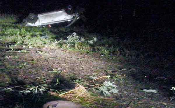 В Зауралье водитель сбежал с места ДТП, бросив раненого пассажира