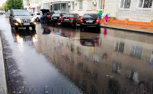 В Кургане досрочно отремонтировали улицу Тобольная