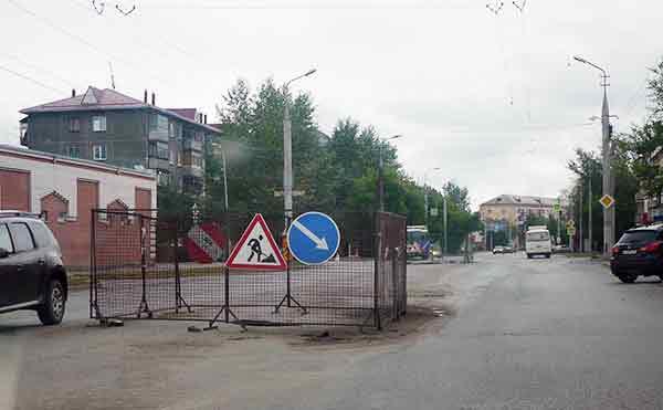 В Кургане после ремонта открыли движение по улице Куйбышева
