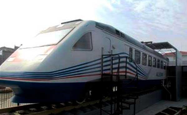В Кургане на вокзале установят макет скоростного поезда