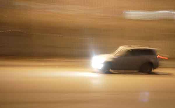 В Кургане ночью на перекрестке столкнулись 4 автомобиля