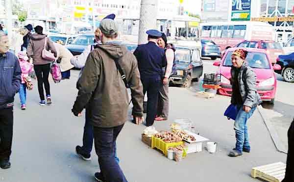 В Кургане рейд полиции устроил переполох среди нелегальных торговцев