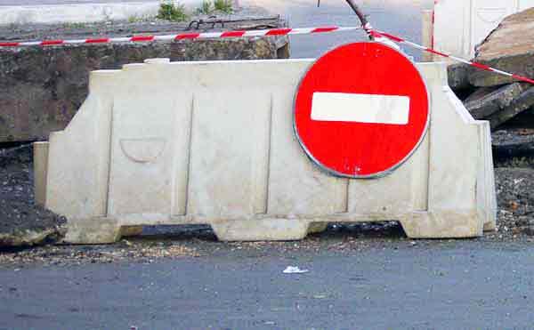 В Кургане закроют движение по переулку Дзержинского