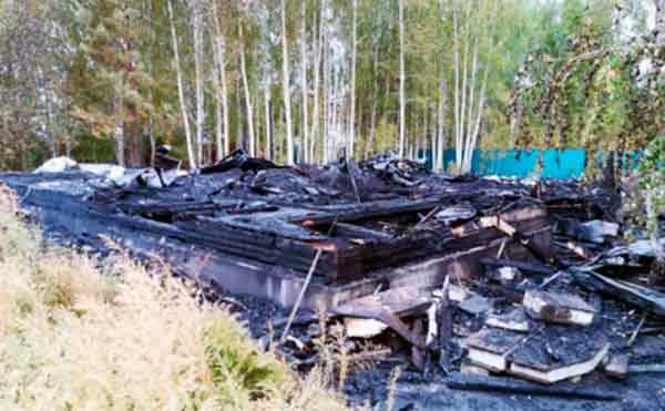 В Курганской области пенсионерка погибла во время пожара в доме