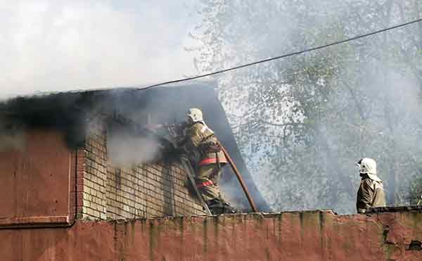 В Курганской области за субботу сгорели два дома