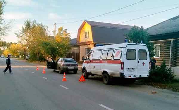 В Шадринске ВАЗ сбил 10-летнего школьника
