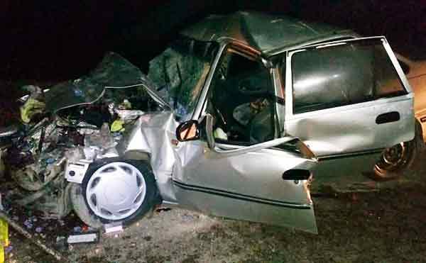 В Зауралье четыре человека получили травмы при столкновении легковушки с грузовиком