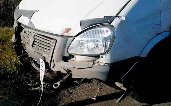 В Курганской области в аварии пострадал трехлетний ребенок