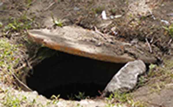 В Кургане женщина и коляска с ребенком провалились в канализационный люк