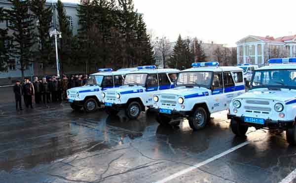 Полиция Курганской области получила 38 новых автомобилей