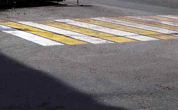 В Кургане ищут автобус, который сбил мужчину на пешеходном переходе