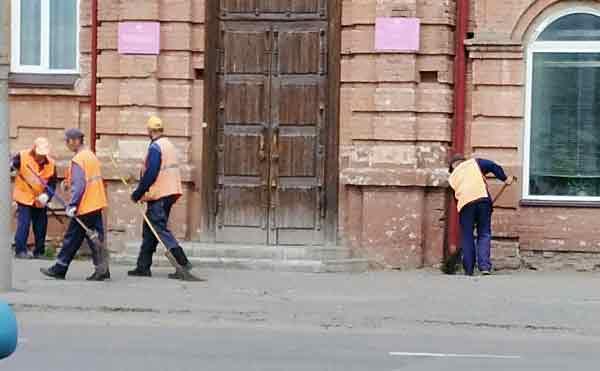 В Кургане за неделю собрали 54 тонны мусора