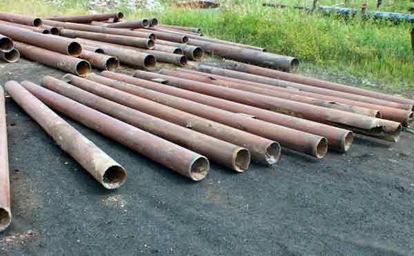 В Курганской области директор МУПа сдал теплотрассу в металлолом