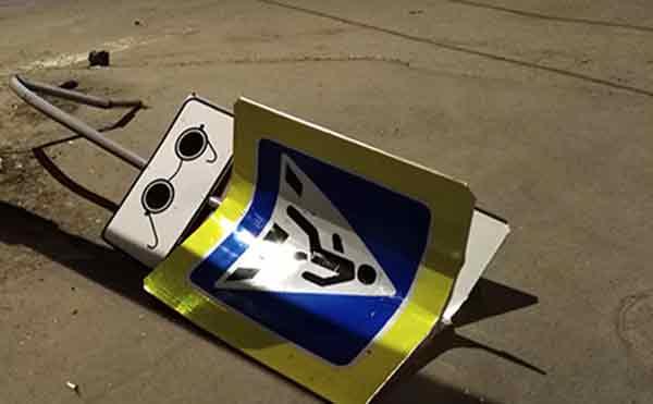 В Курганской области пьяный водитель сбил пешехода и пытался скрыться с места ДТП