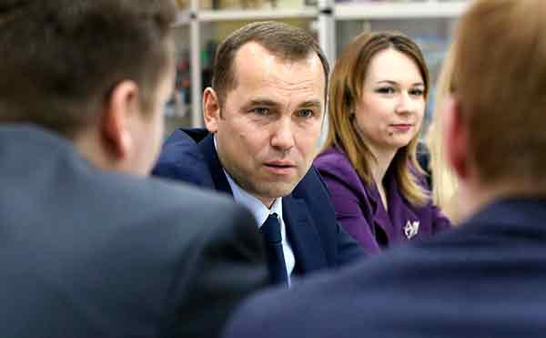 Вадим Шумков встретился с курганскими блогерами