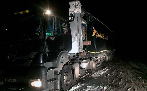 В Кетовском районе водитель «LADA GRANTA» погиб в ДТП с фурой