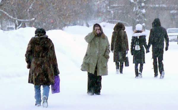 В Зауралье идут 40-градусные морозы