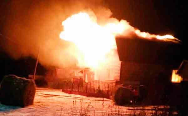 Житель Шадринска по неосторожности сжег имущество на пять миллионов рублей