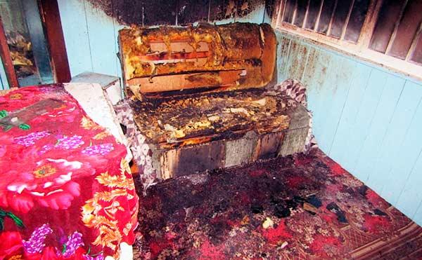 Жительницу Зауралья подозревают в серии поджогов домов