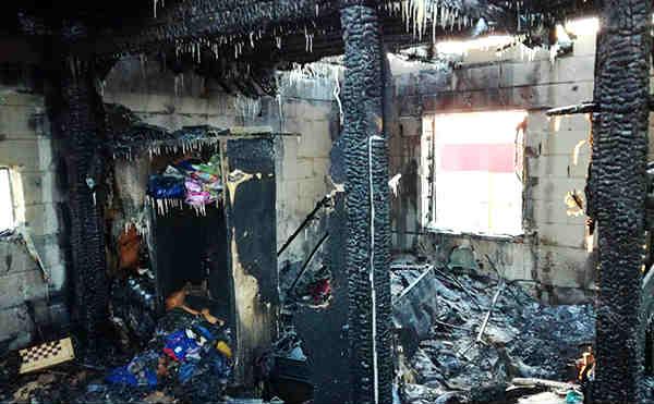 Курганец погиб во время пожара в гаражах