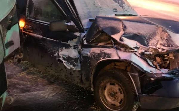 В Кургане в ДТП с участием двух автобусов и легковушки пострадали три человека