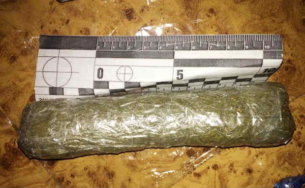 В Курганской области пограничники нашли в поезде мешок с марихуаной