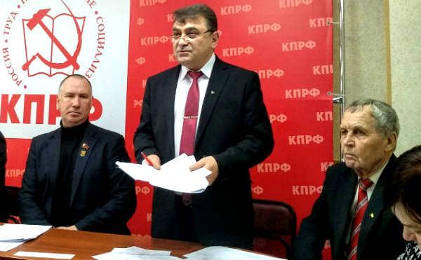 Курганские коммунисты избрали нового первого секретаря