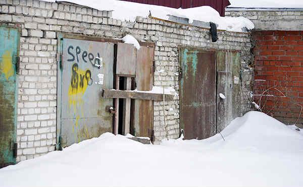 У курганца украли гараж на улице Отдыха