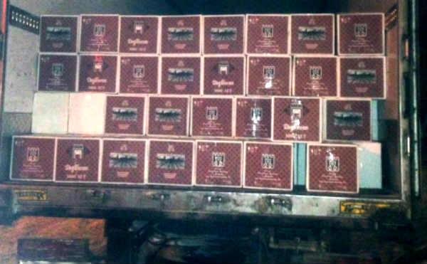 В Кургане с 16 тысячами бутылок нелегального алкоголя задержан свердловчанин