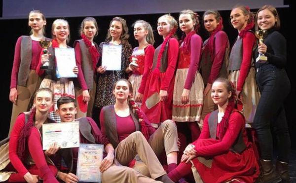 Танцевальный коллектив из Далматово стал победителем международного конкурса