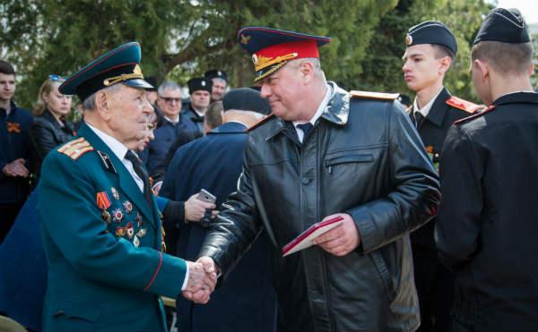 В Анапе прошли торжественные мероприятия, посвящённые проведению эстафеты «Дорога Памяти», приуроченной к 74-й годовщине Победы в Великой Отечественной войне