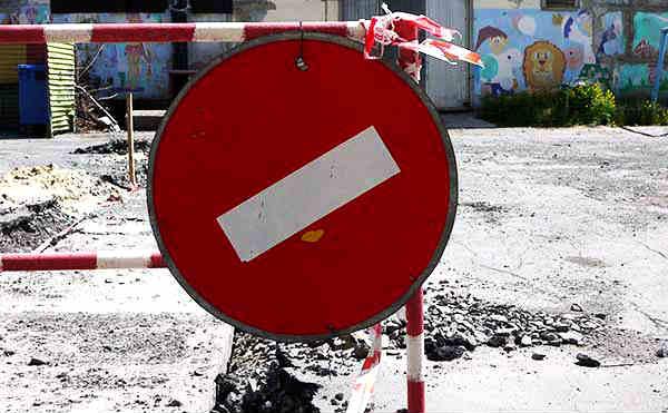В Кургане на месяц закроют движение по улице Сибирская