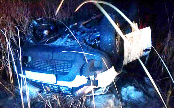 В Курганской области на трассе «Иртыш» столкнулись две иномарки