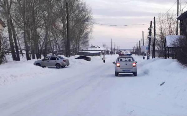 В Курганской области водитель сбил двух девочек и скрылся