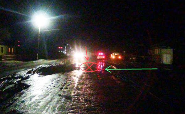 В Курганской области водитель сбил двух пешеходов и скрылся с места ДТП