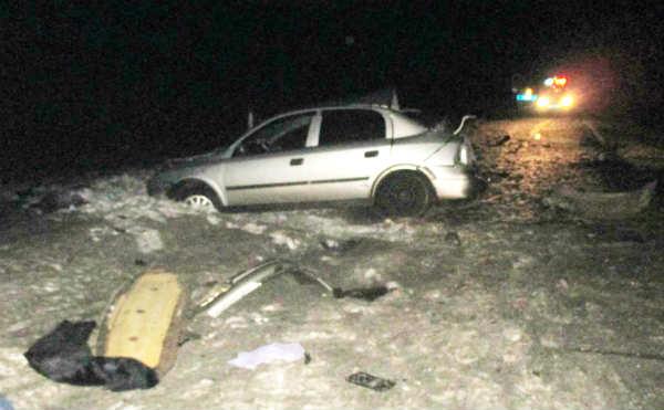 В Мишкинском районе в ДТП один человек погиб еще трое получили травмы