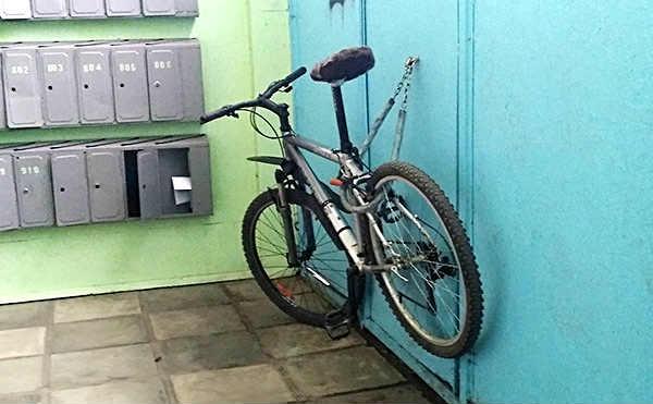 Курганец стащил велосипед в общежитии и сдал его в комиссионку