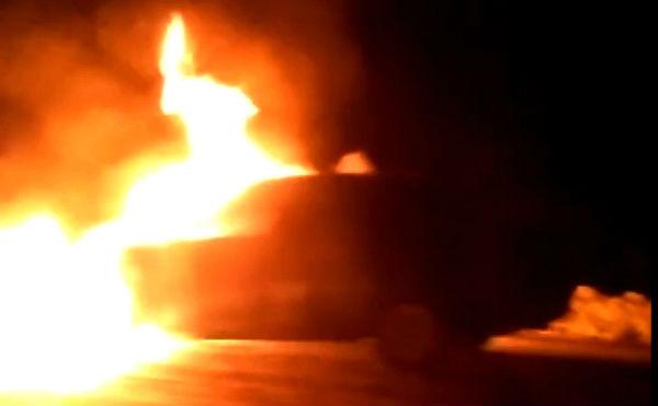 Курганец угнал и спалил машину бывшего начальника