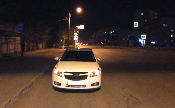 В Кургане на пешеходном переходе «CHEVROLET» сбил женщину