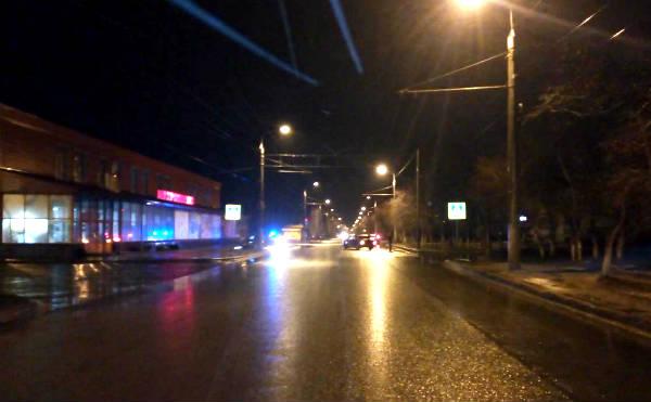 В Кургане на улице Гагарина сбили девочку-подростка