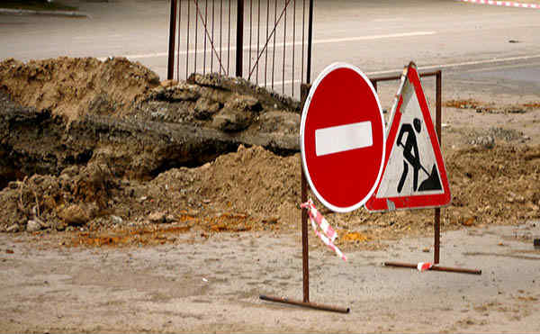 В Кургане улицу Сибирская закроют для проезда до 31 мая