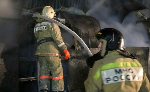 В Кургане во время пожара на Коли Мяготина погиб мужчина