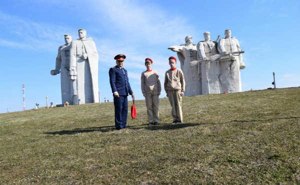 В Московской области прошли торжественные мероприятия в рамках Всероссийской патриотической эстафеты «Дорога Памяти», приуроченной к 74-й годовщине Победы в Великой Отечественной войне