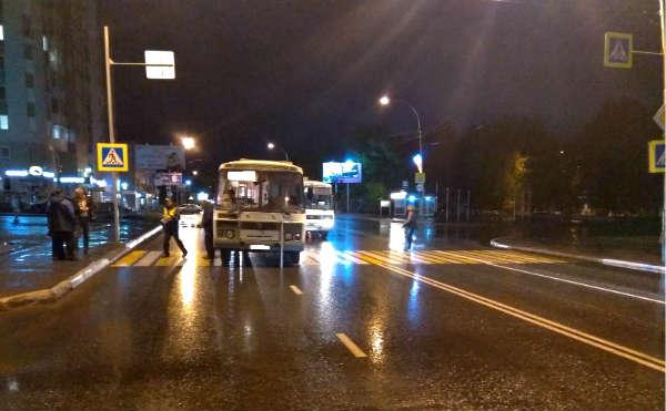 В Кургане автобус сбил женщину на пешеходном переходе
